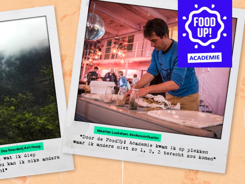 Kaart met quotes FoodUp Academie v2 website