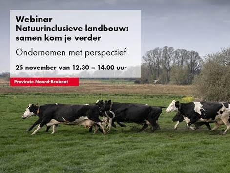 Webinar natuurinclusieve landbouw Provincie Website